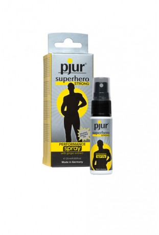PJUR SUPERHERO - STRONG PERFORMANCE SPRAY