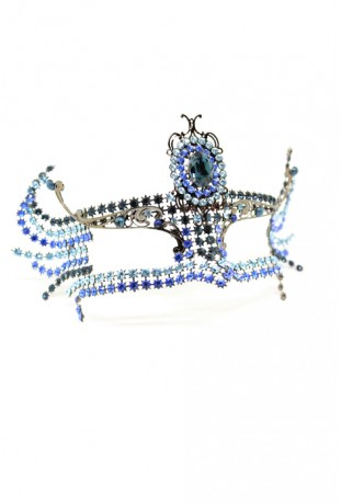 THE ORIGINAL ATELIER - MASK WITH SWAROVSKY CRYSTALS