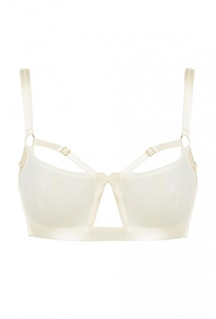 BORDELLE - BONDAGE BELLE SOFT CUP BRA CREAM