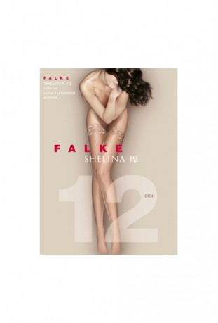FALKE - SHELINA 12 DEN STAY UPS POWDER