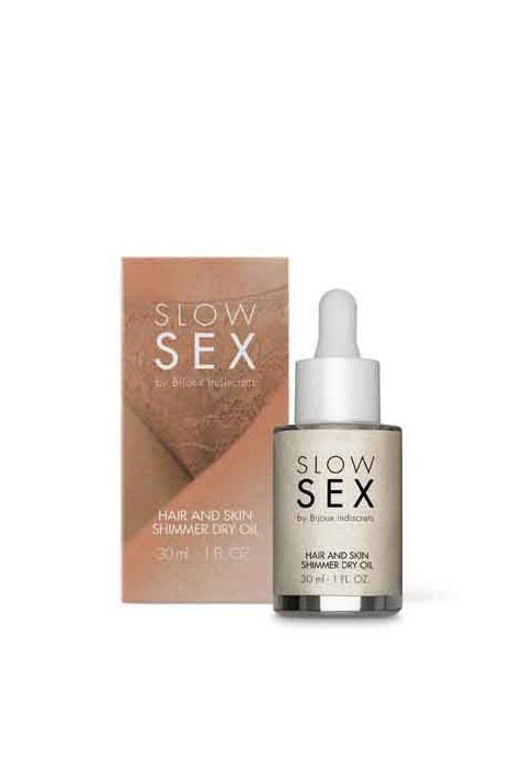 BIJOUX INDISCRETS - SLOW SEX INTIMATE SHIMMER DRY OIL